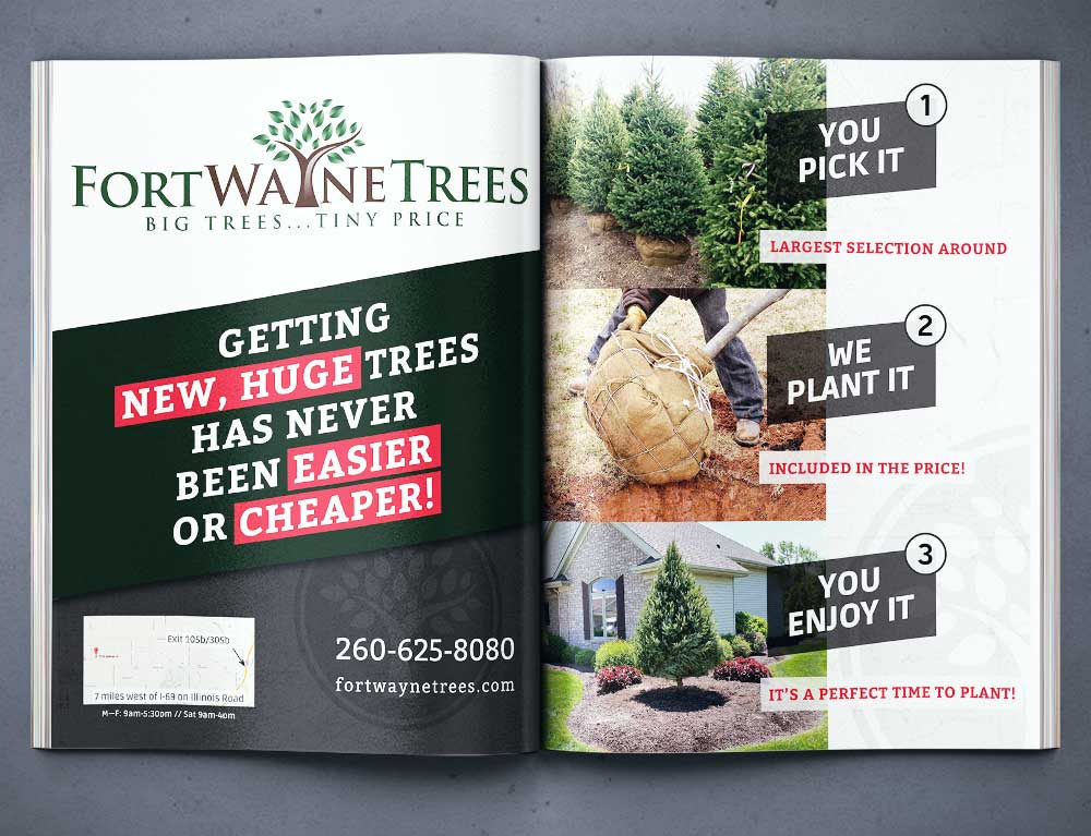 Fort Wayne Trees in Business People Magazine