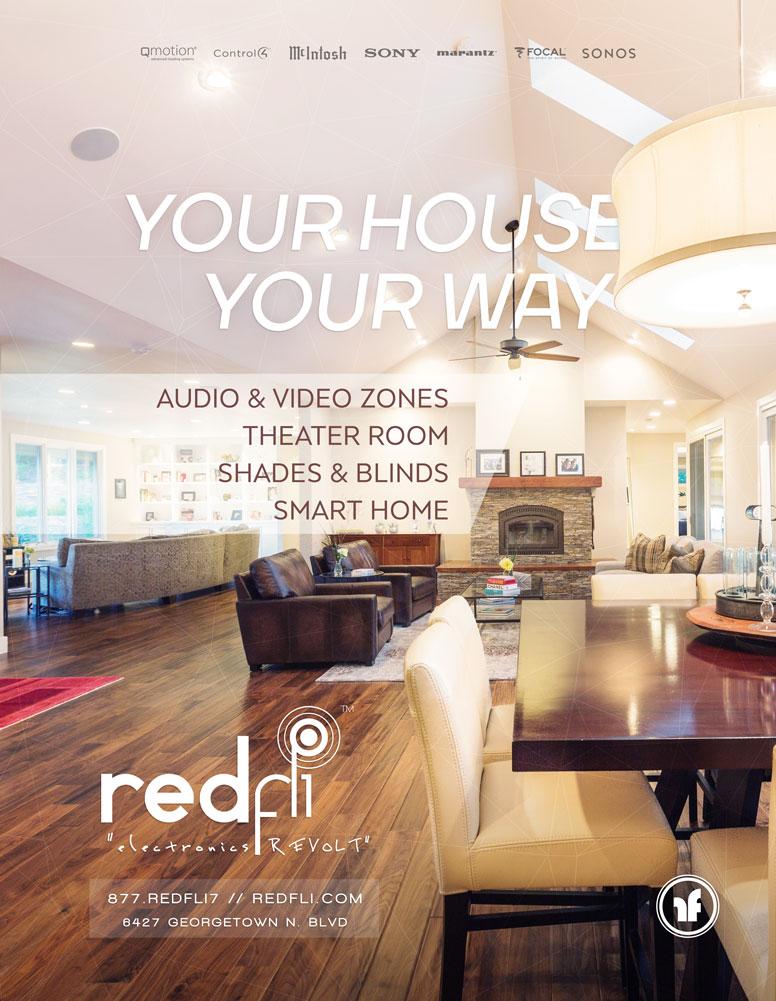 Magazine Ad // Redfli Electronics